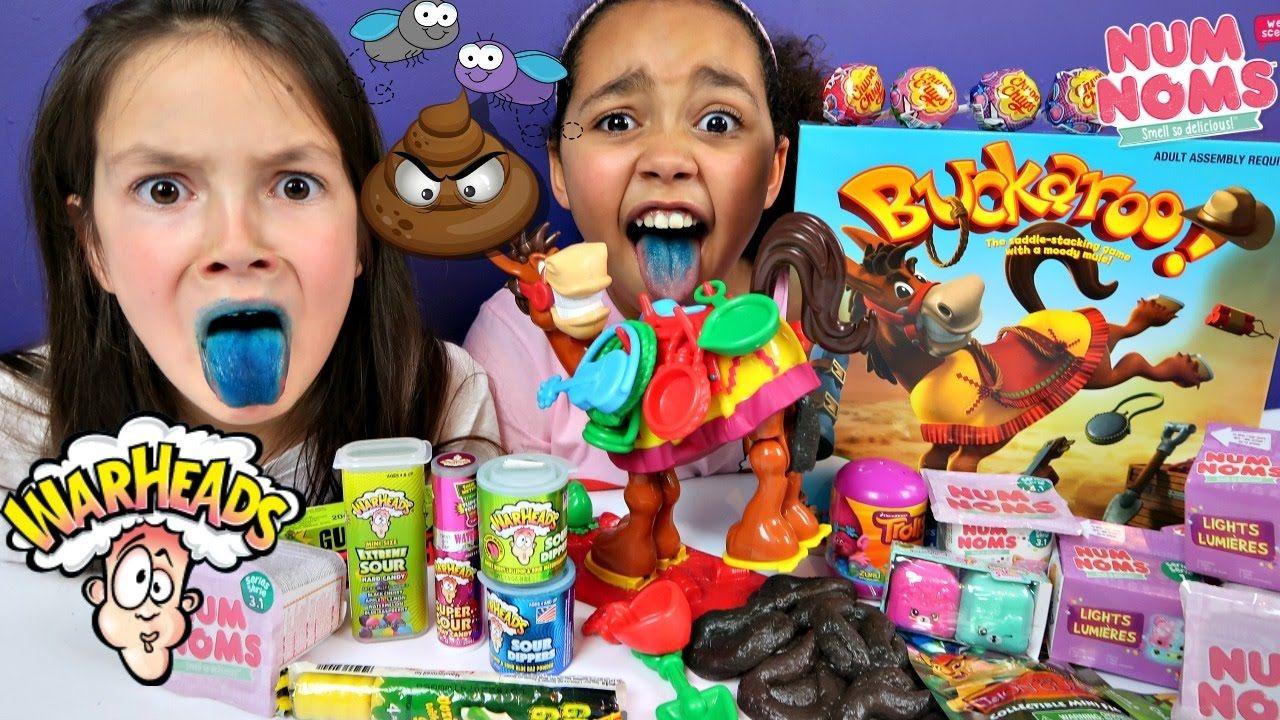 Buckaroo Toy Challenge Game Warheads Candy Gooey Poo