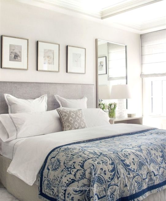 Adorable Master bedroom Ideas via A Blissful Nest. Are you looking for unique and beautiful art ...