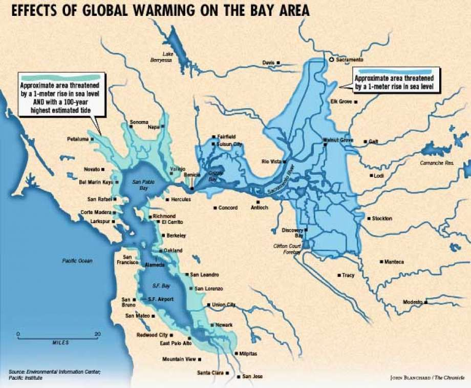 Global warnings warmer climates predicted to turn delta