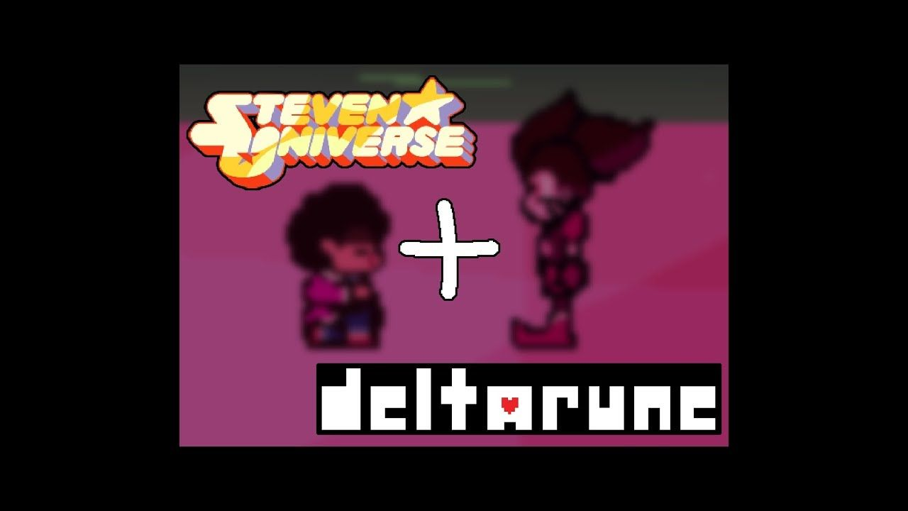 Vs Spinel Steven Universe X Deltarune Create Your Frisk Create You Steven Universe Super Smash Brothers Smash Brothers
