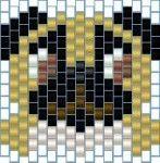 free peyote stitch patterns, pug dog charm, peyote rivets, military peyote tube beads, hearts bracelet | Guide To Beadwork Blog