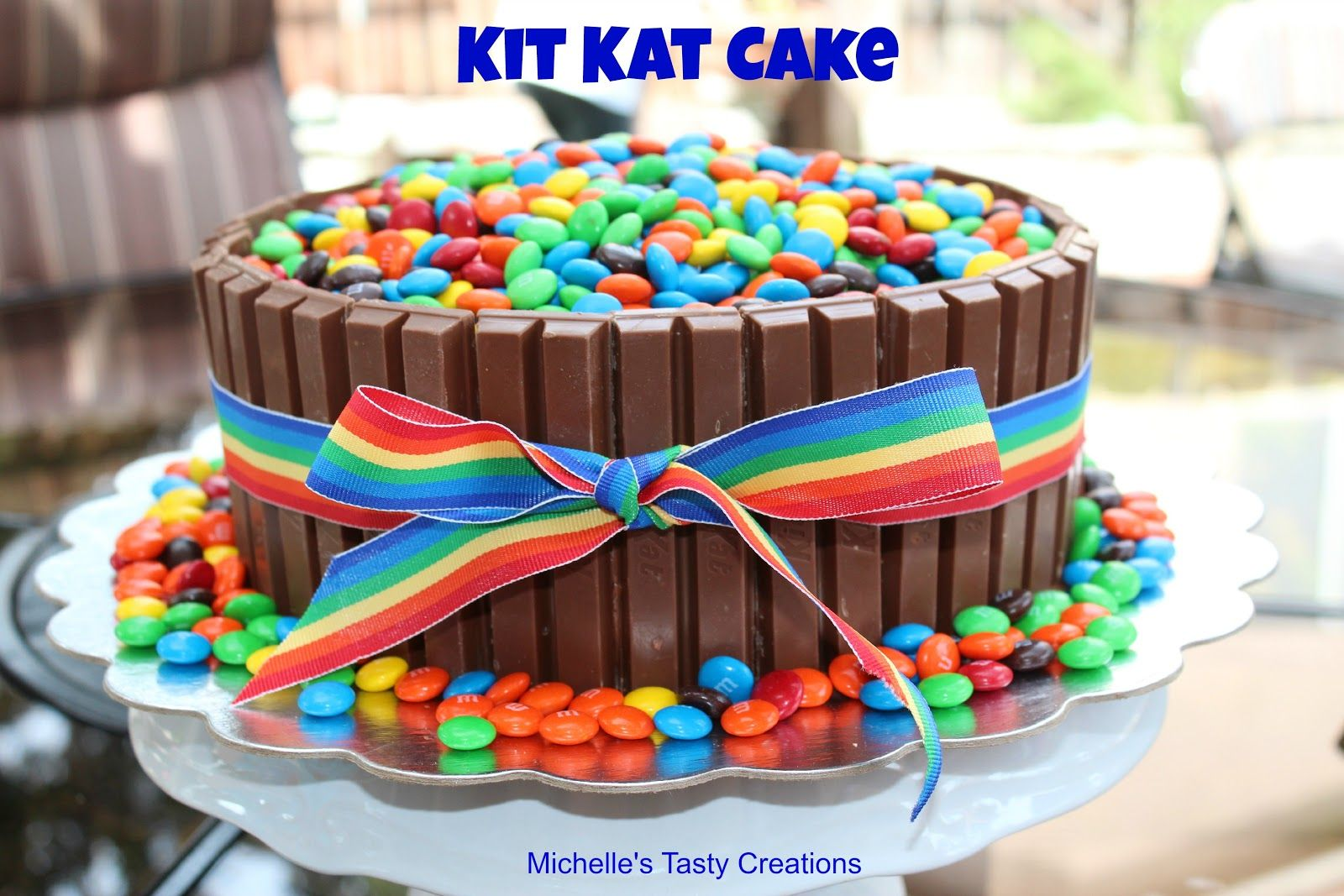 Michelles Tasty Creations Kit Kat Cake Im Going To Make This For
