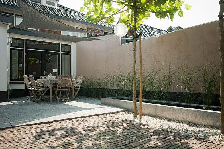 Kleine Terrassen buytengewoon nl kleine tuinen tuin met terrassen en waterpartij