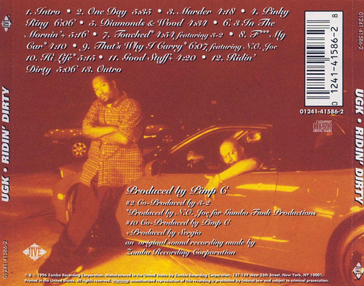 Back cover to the Underground Kingz' masterpiece third album