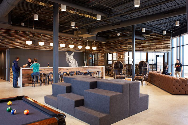 Partners by Design repurpose an old factory to create an