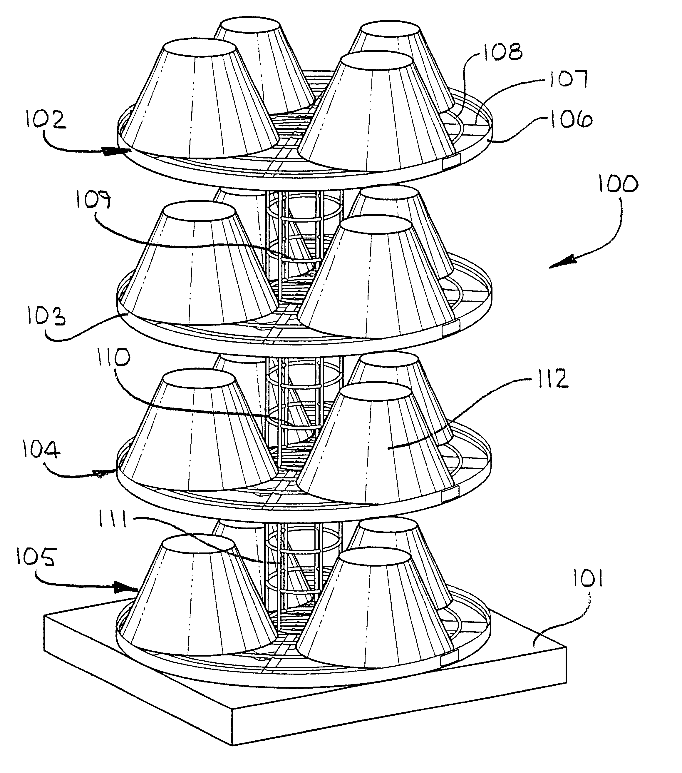 Patent us6591993 rotating lamp shade display carousel system patent us6591993 rotating lamp shade display carousel system google patents aloadofball Image collections