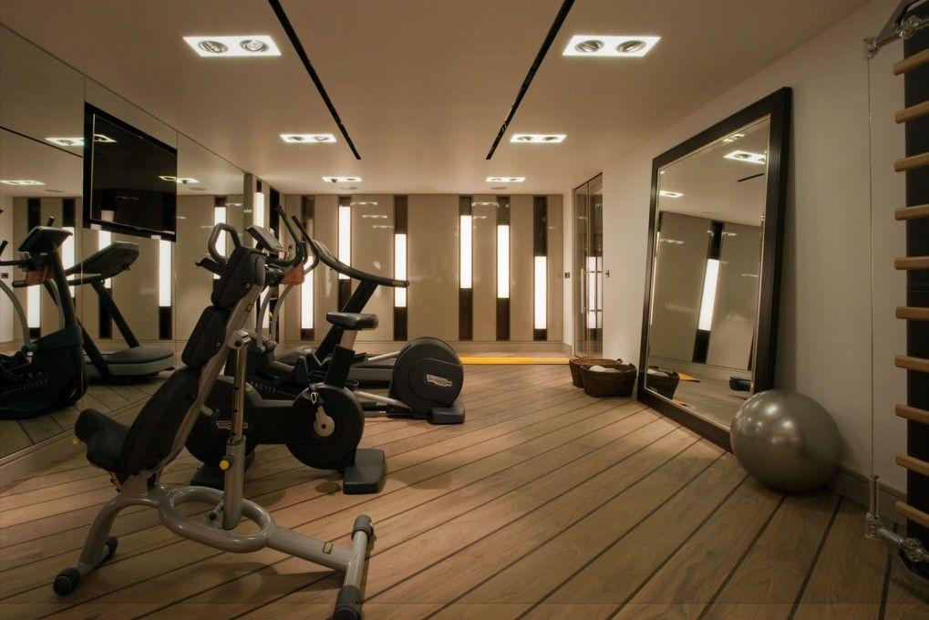 Knightsbridge House Howes Rigby Gym Interior Home Gym Design Gym Room
