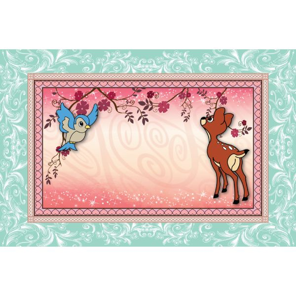 Sweet Forest Princess Placemats