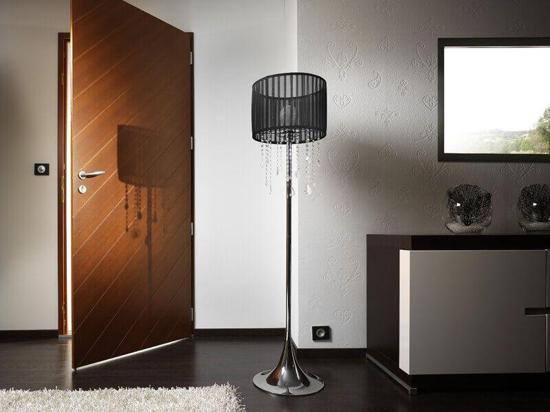 Chic et moderne, la porte du0027entrée en bois su0027adapte à votre