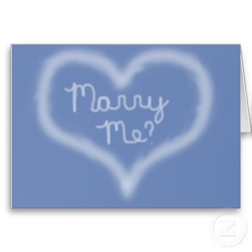 Marry Me Skywriting Card Marriage Proposals And Proposals
