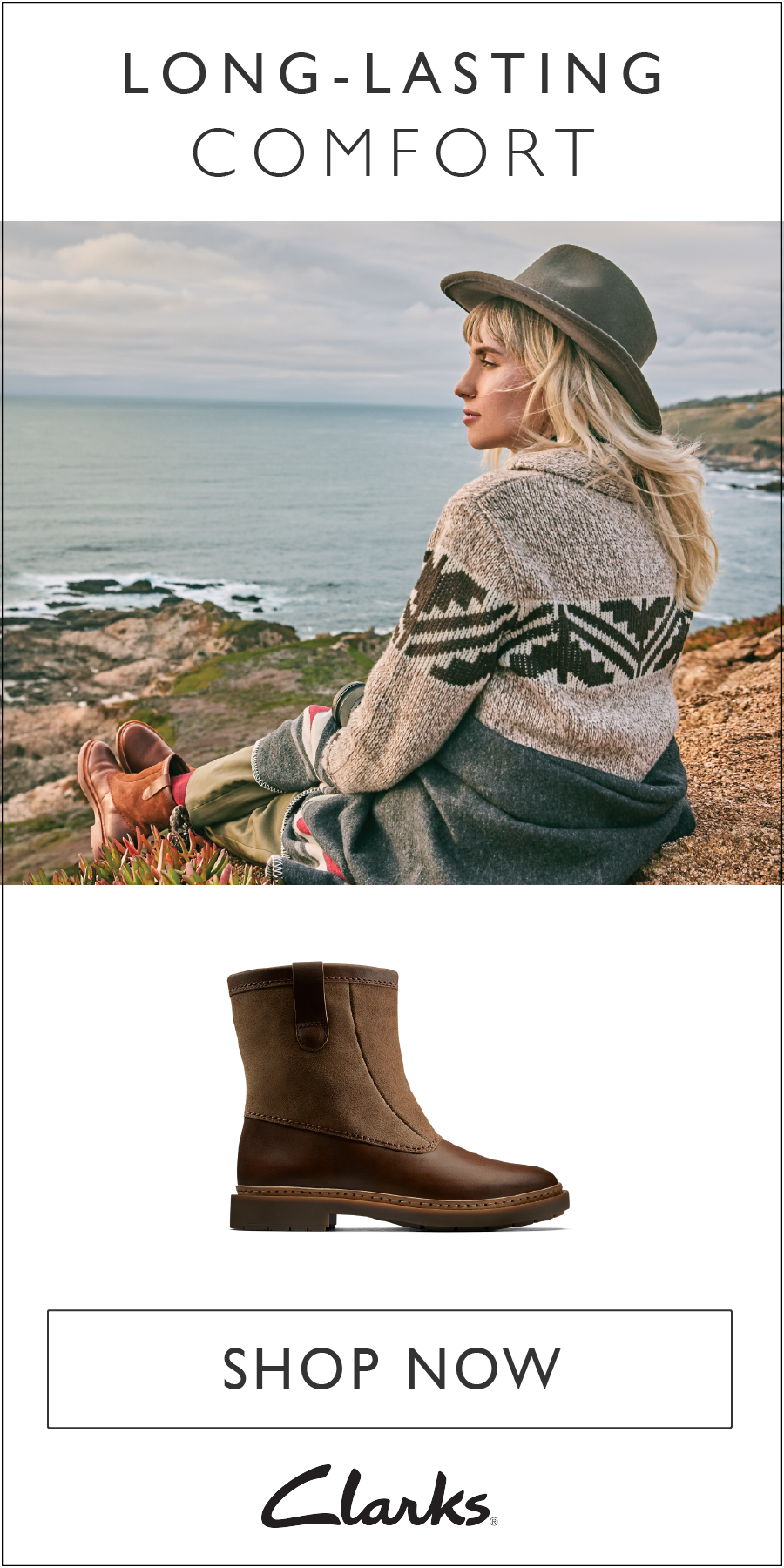 01f870def84 Take on the fall and winter months with long-lasting comfort thanks to  these Trace Fern women s shoes from Clarks. Featuring a suede and leather  exterior