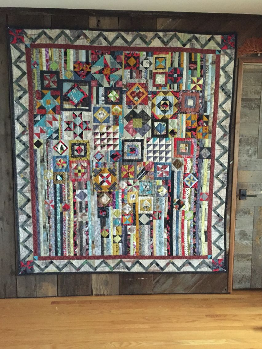 Gypsy Wife Quilt by Sally Hunt Spurr
