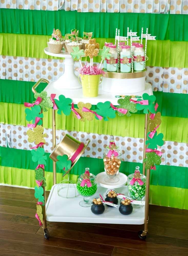 Stay Golden St Patricks Day Party Ideas Cool Pinterest Slinger