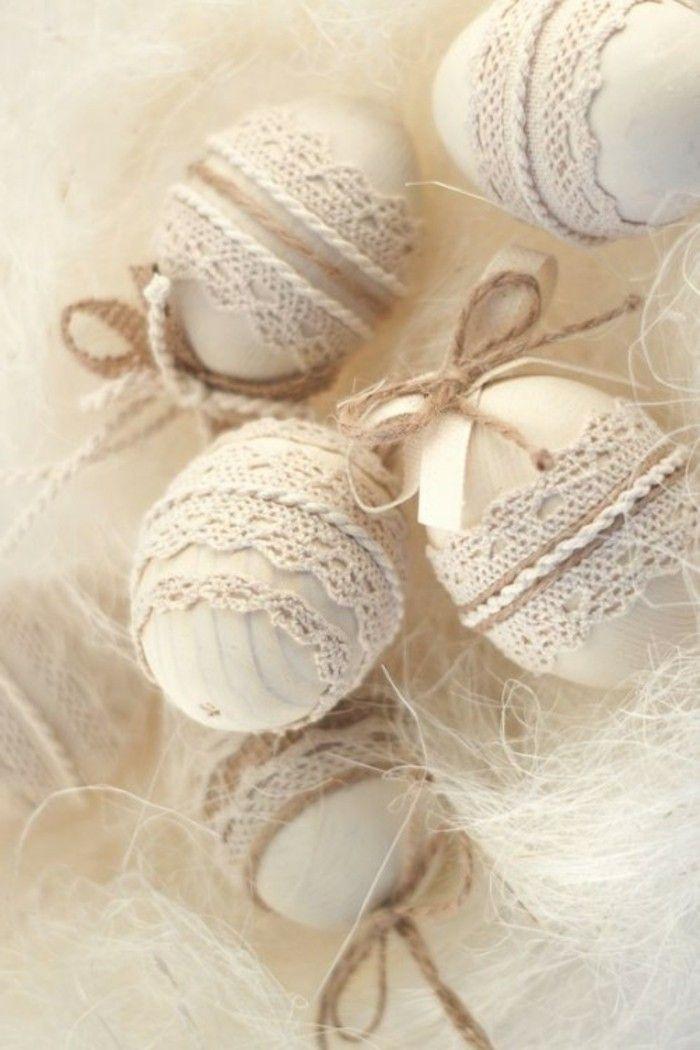 5 Ideen wie man die Ostereier färben und dekorieren kann  #woodendiy #holztisch