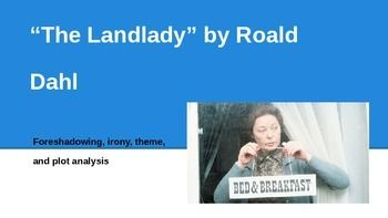 the landlady roald dahl analysis