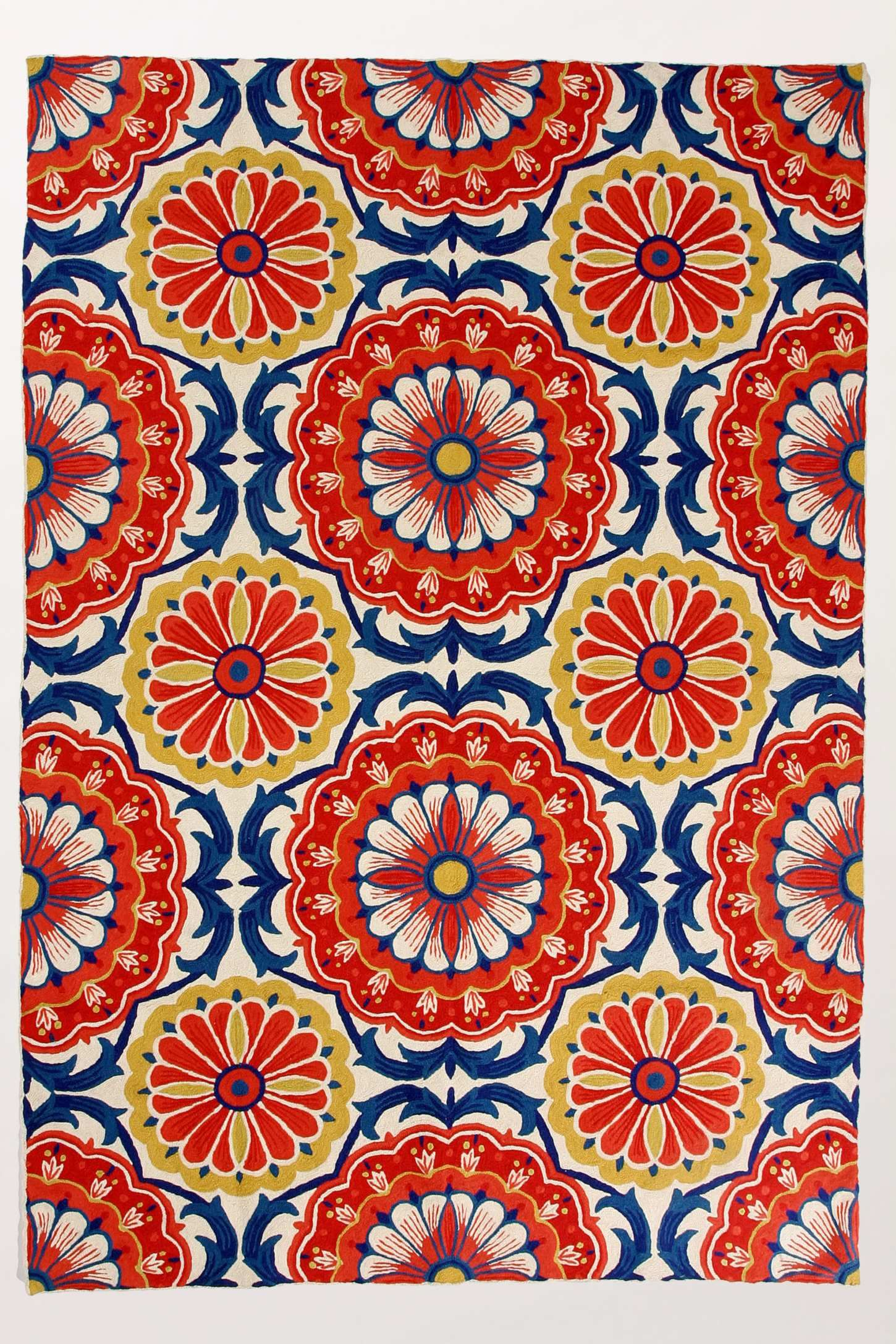 Suggest A Similar Bright & Colorful Rug? Tile patterns