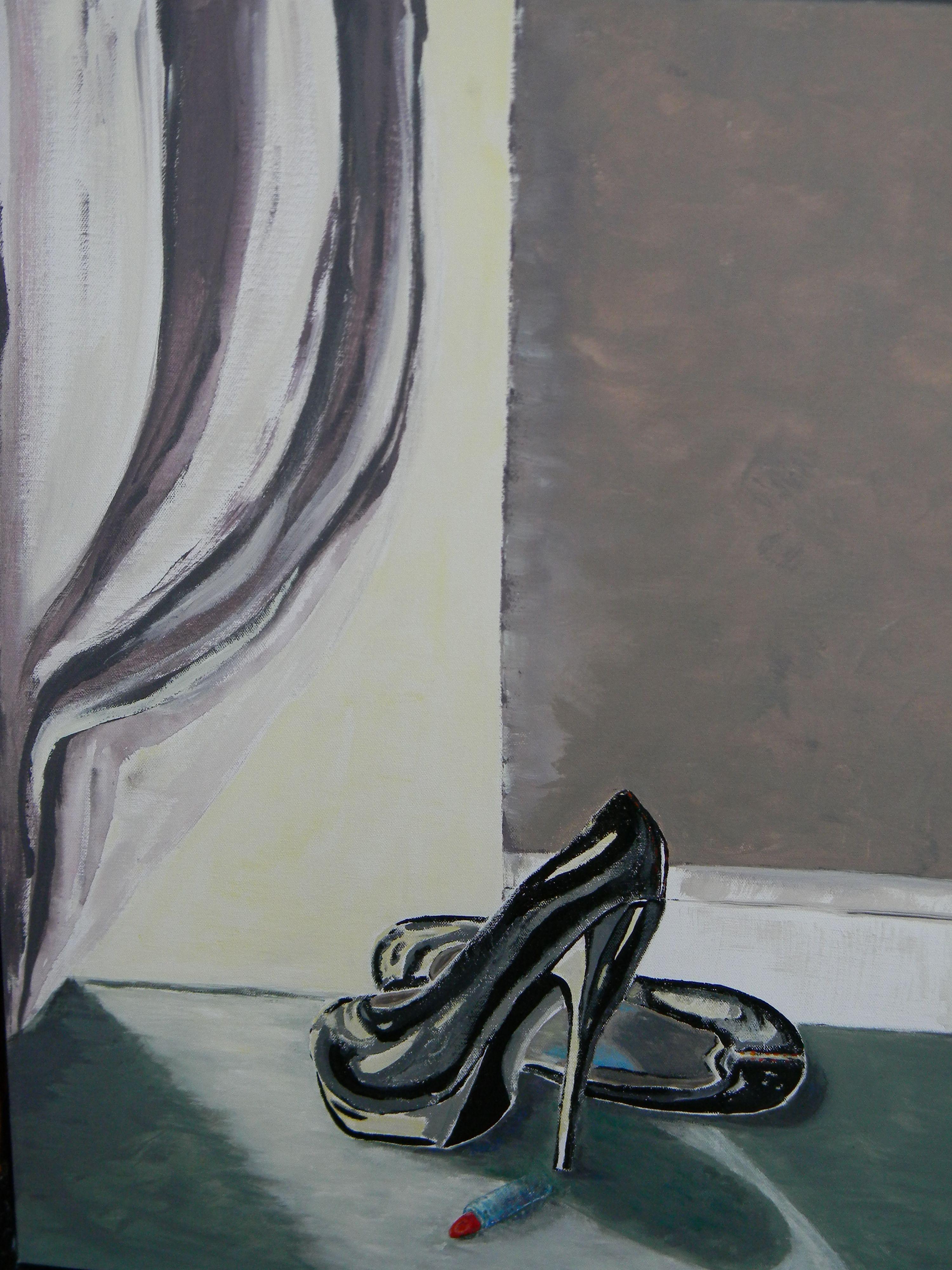 Acrylic painting.by Karen Neufeld