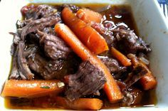 French Braised Beef, Red Wine and Vegetable Stew   #PrimalBliss