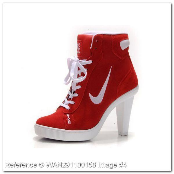 zapatos tacon nike mujer