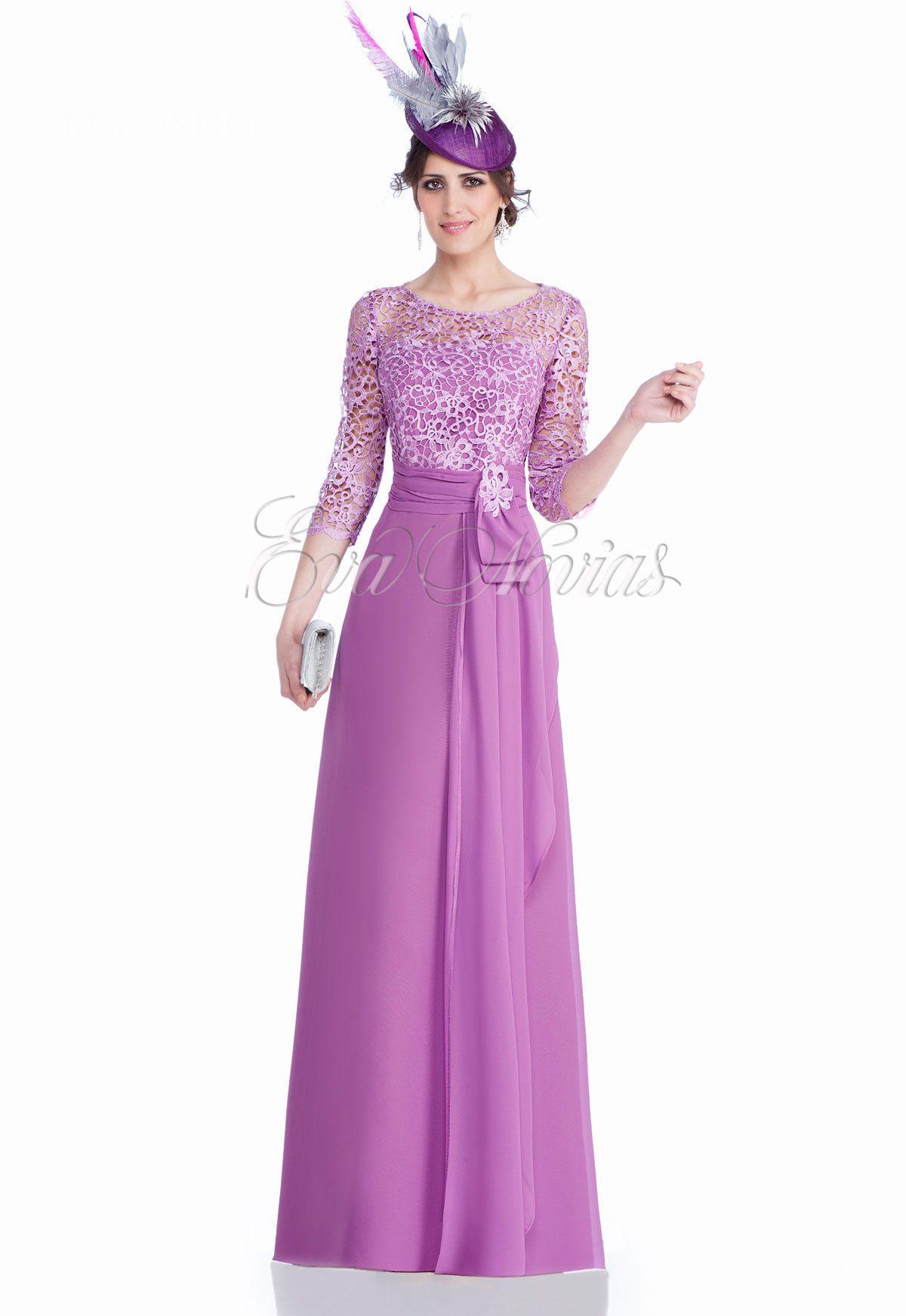 Vestido de fiesta o madrina de la firma Madison Diseño coleccion ...