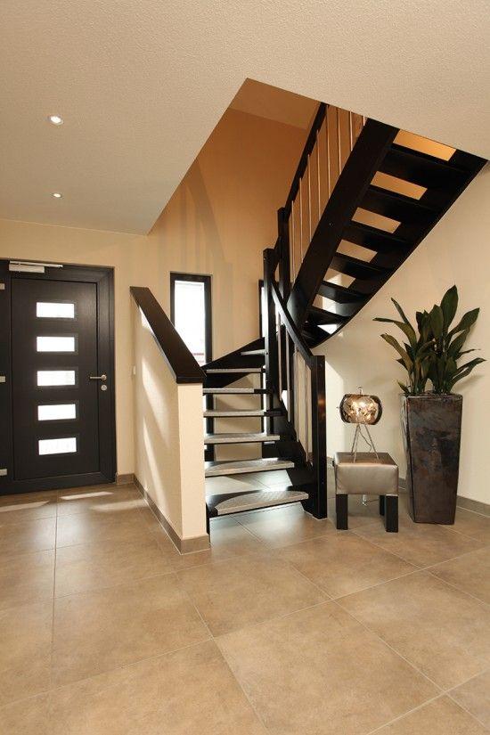 fertighaus wohnidee diele flur und galerie wohnideen diele flur und galerie pinterest. Black Bedroom Furniture Sets. Home Design Ideas