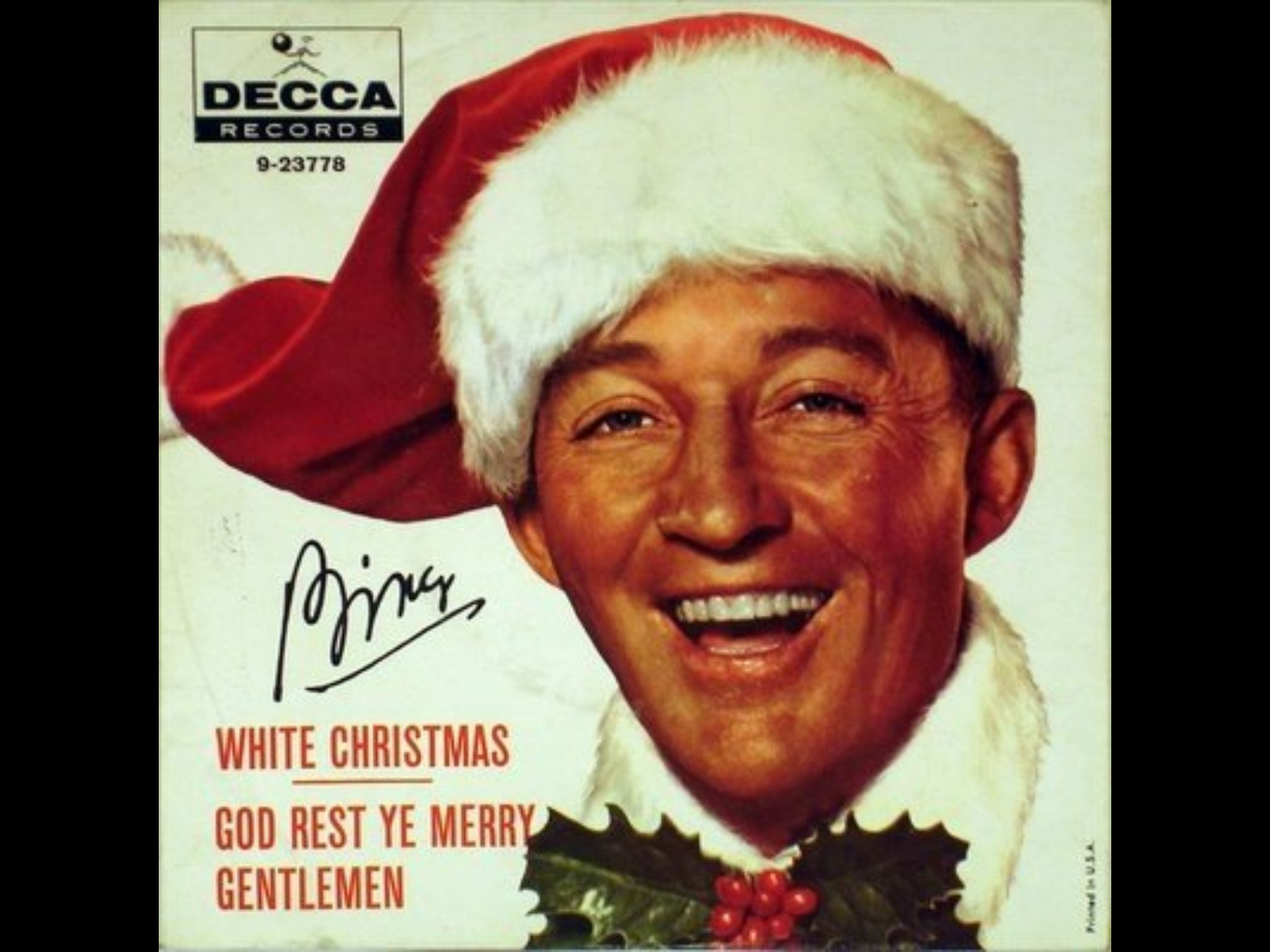 """""""You can do anything you put your mind to!"""" Bing Crosby"""