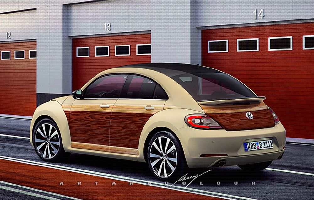 Volkswagen Beetle Door Concept Conceptual Design