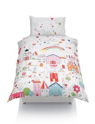 Rainbow Road Print Bedding Set With Staynew Childrens Bed Linen Print Bedding Childrens Beds