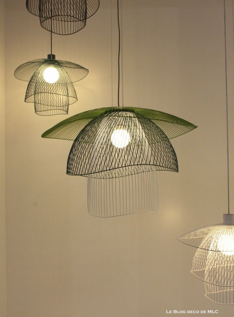 luminaires suspension couleur elise fouin forestier pendant lights pinterest forestier. Black Bedroom Furniture Sets. Home Design Ideas