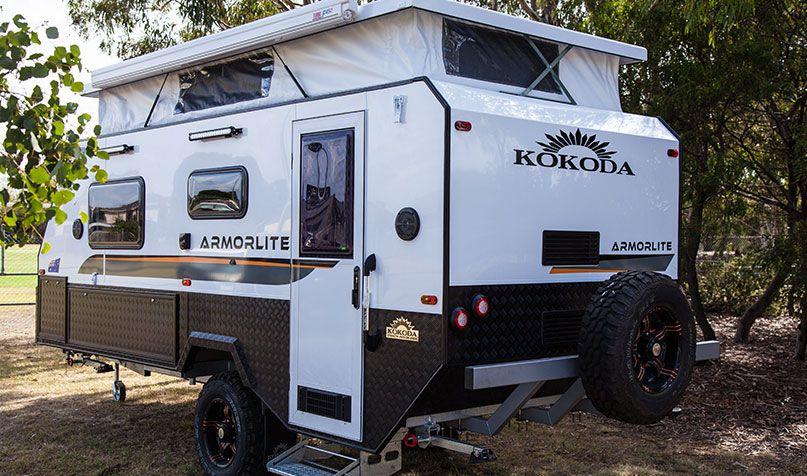 Armorlite | Kokoda Caravans | Hybrid camper, Camper ...