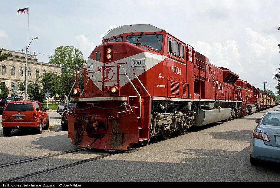 Inrd 9004 Indiana Rail Road Emd Sd9043mac At Bedford Indiana By Joe Vittitoe Railroad Photography Railroad Bedford