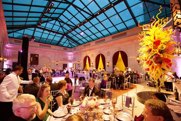 More From The Capitalstyle Wedding Reception In Columbus Museum Of Art S Derby Court Photo By Mark Garber