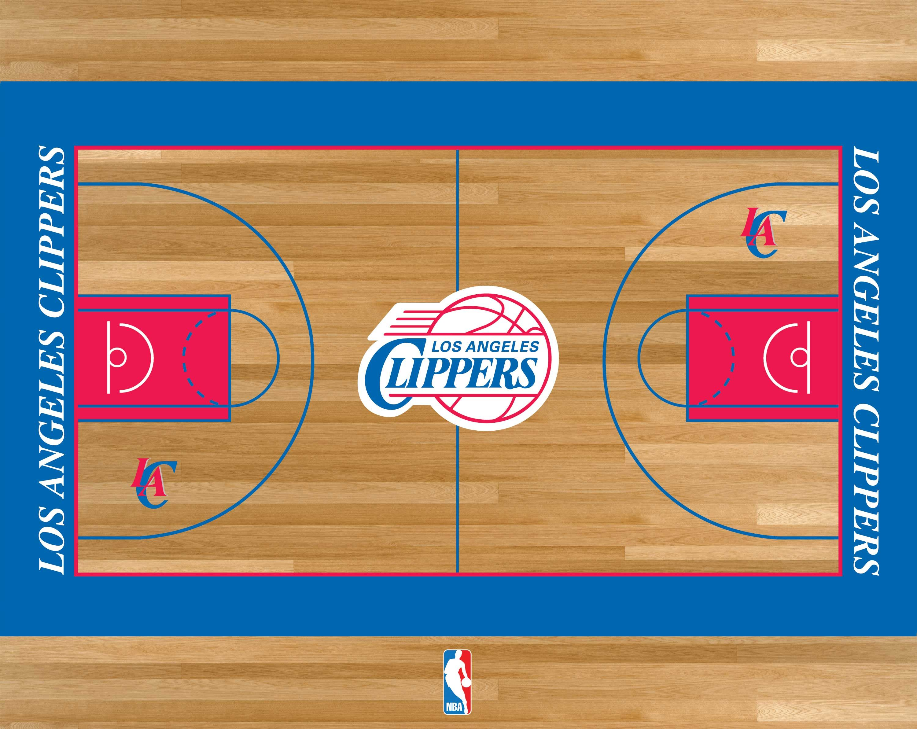 Los Angeles Clippers Basketball Court Los Angeles Clippers Los