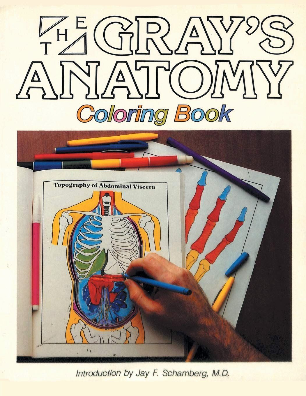 Human Anatomy Coloring Book Inspirational Amazon Gray S Anatomy Coloring Book Anatomy Coloring Book Coloring Books Basford Coloring Book