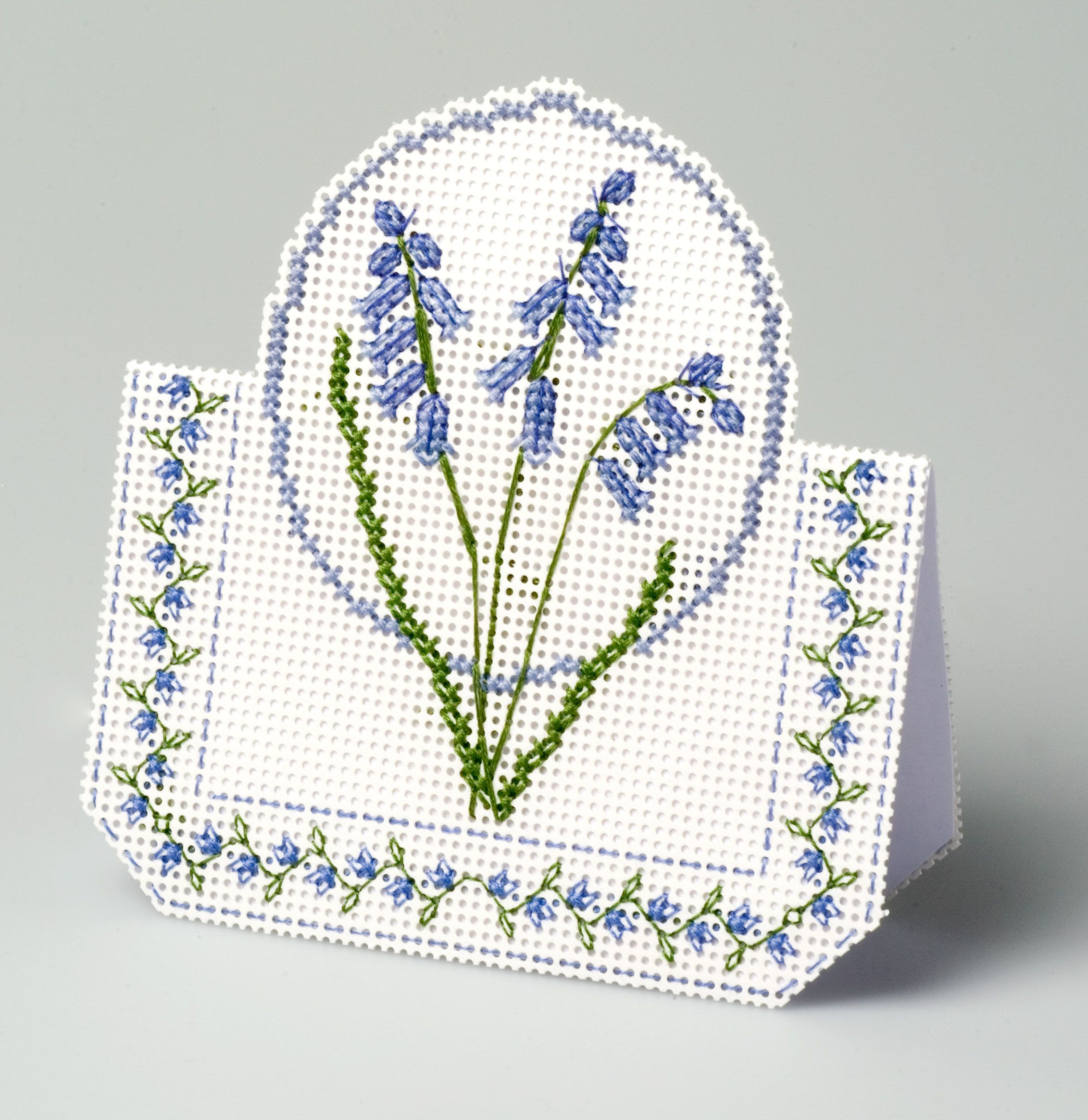 Blubell from 3D Cross Stitch Cards by Meg Evershed of the Nutmeg ...