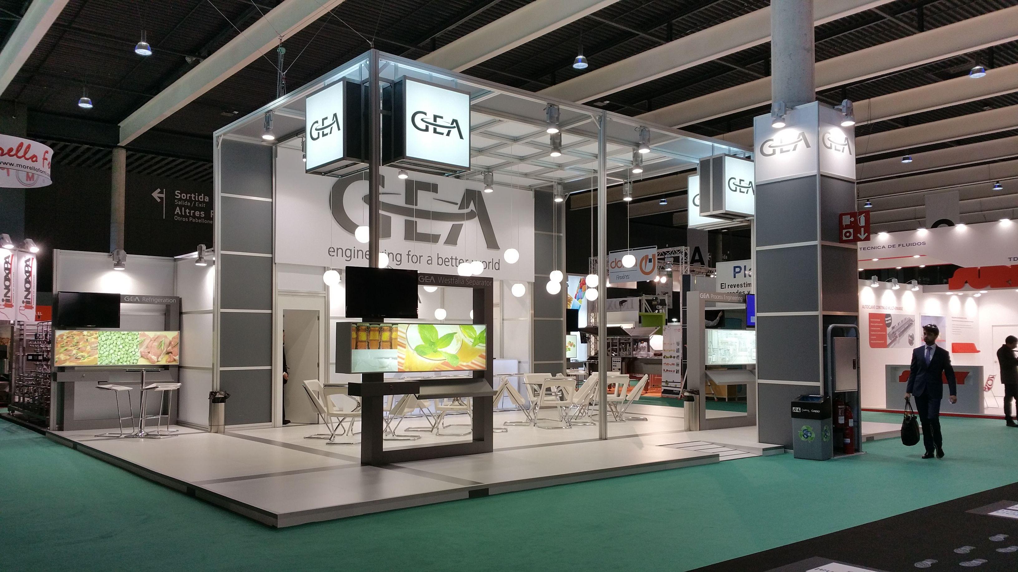 Expo Stands 2015 : Juan fuentes stand para gea bta barcelona spain