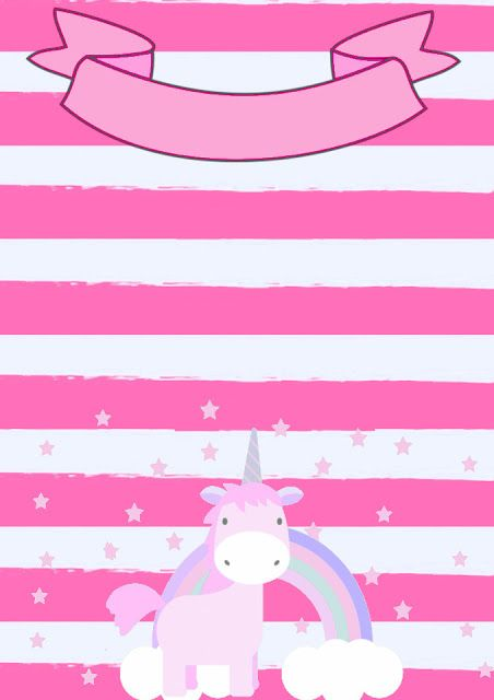 Invitation Unicorn Birthday Invitations Party Templates First
