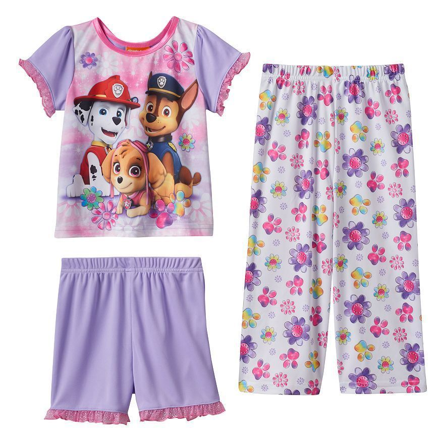 Girls Toddler Paw Patrol Skye Official Pyjamas Set