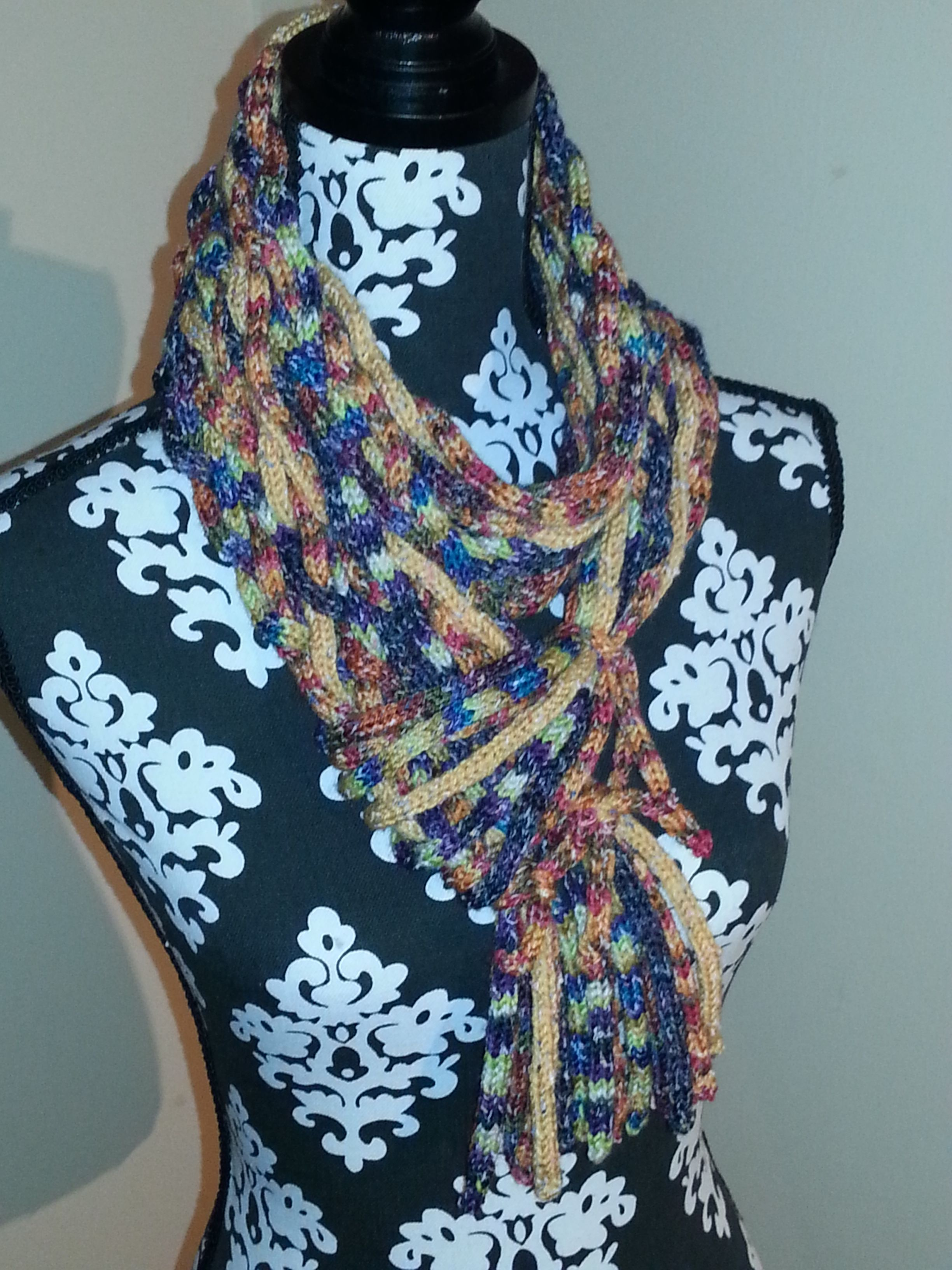 Grunge Baby Braided I Cord Scarf Can Be Purchased In One Of Several