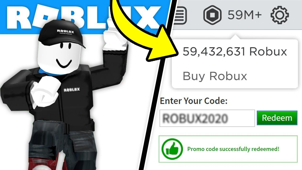 Youtube Thailand New Roblox Enter This Roblox Promo Code For Robux 2020 1 000 000 Robux No Human Verification Youtube I 2020