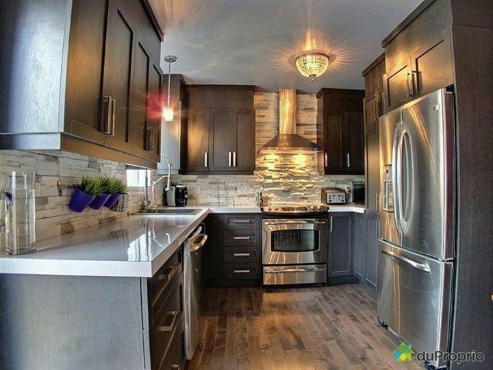 Design/ décoration intérieure/ cuisine/ moderne / armoire shakers ...