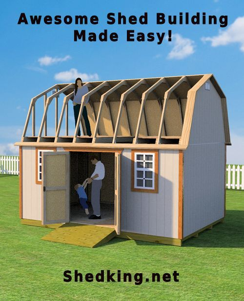 build an awesome shed by getting your whole family involved rh pinterest com