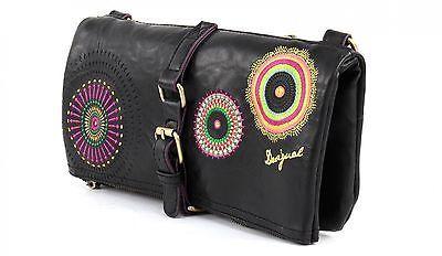 New Spain Desigual Bols Melbourne Audrey handbag Shoulder bag Vintage Embroidery