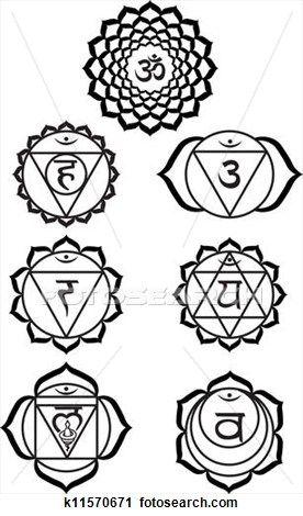 Chakra Symbols Clip Art Clipart Library