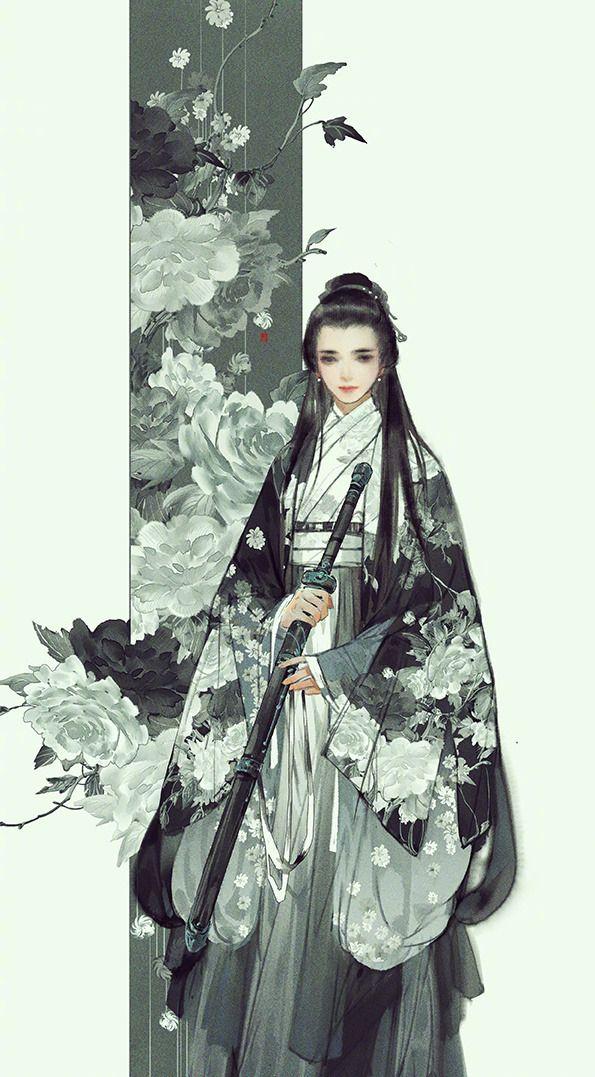my hanfu favorites — 美人画(1/?)   Paintings of beau