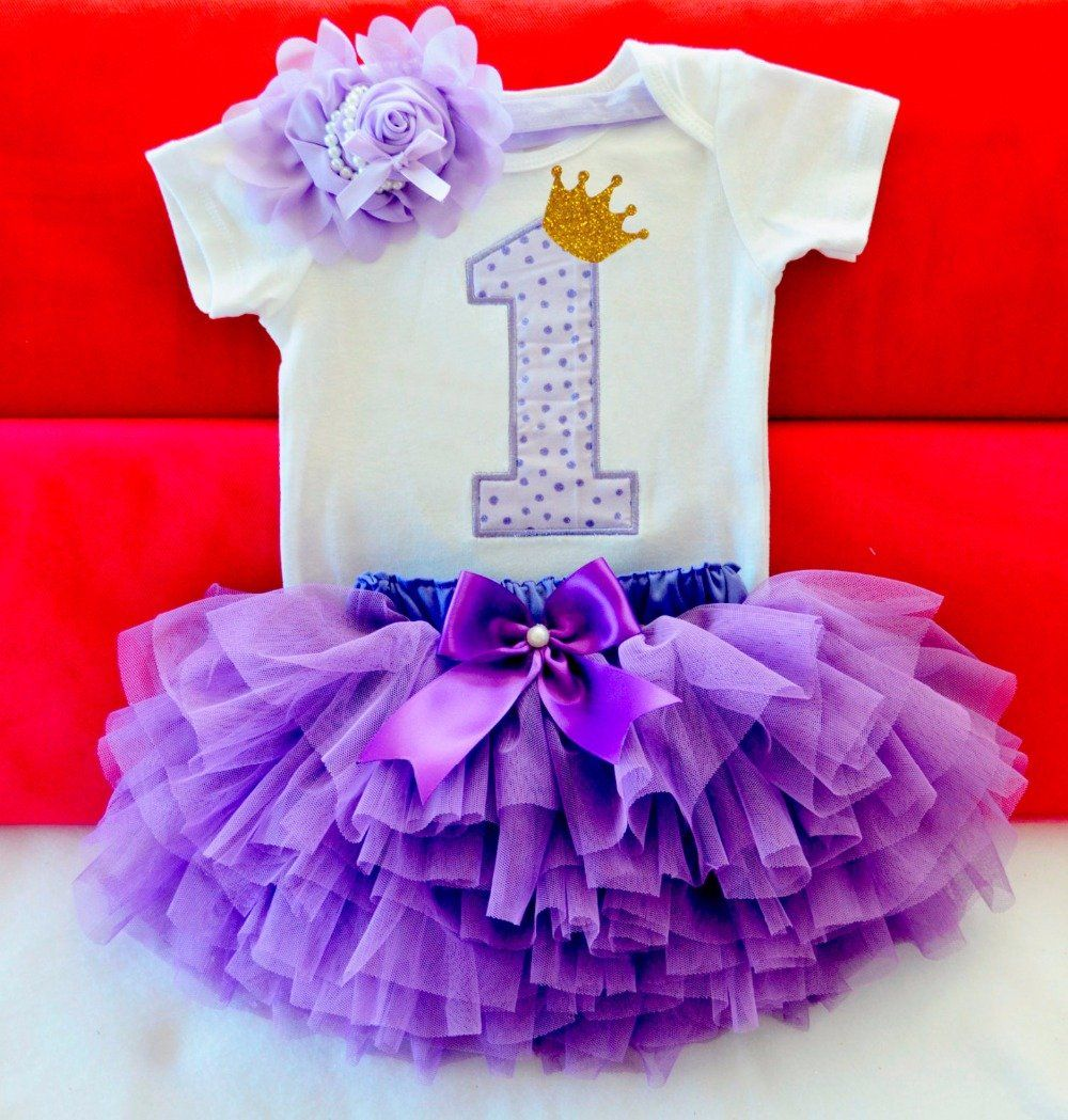 Baby Girl\'s 1st Birthday Outfit | clothes | Pinterest