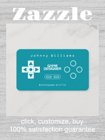 Video Game Console Joypad Cover Business Card Zazzle Com Video Game Design Video Game Console Game Console