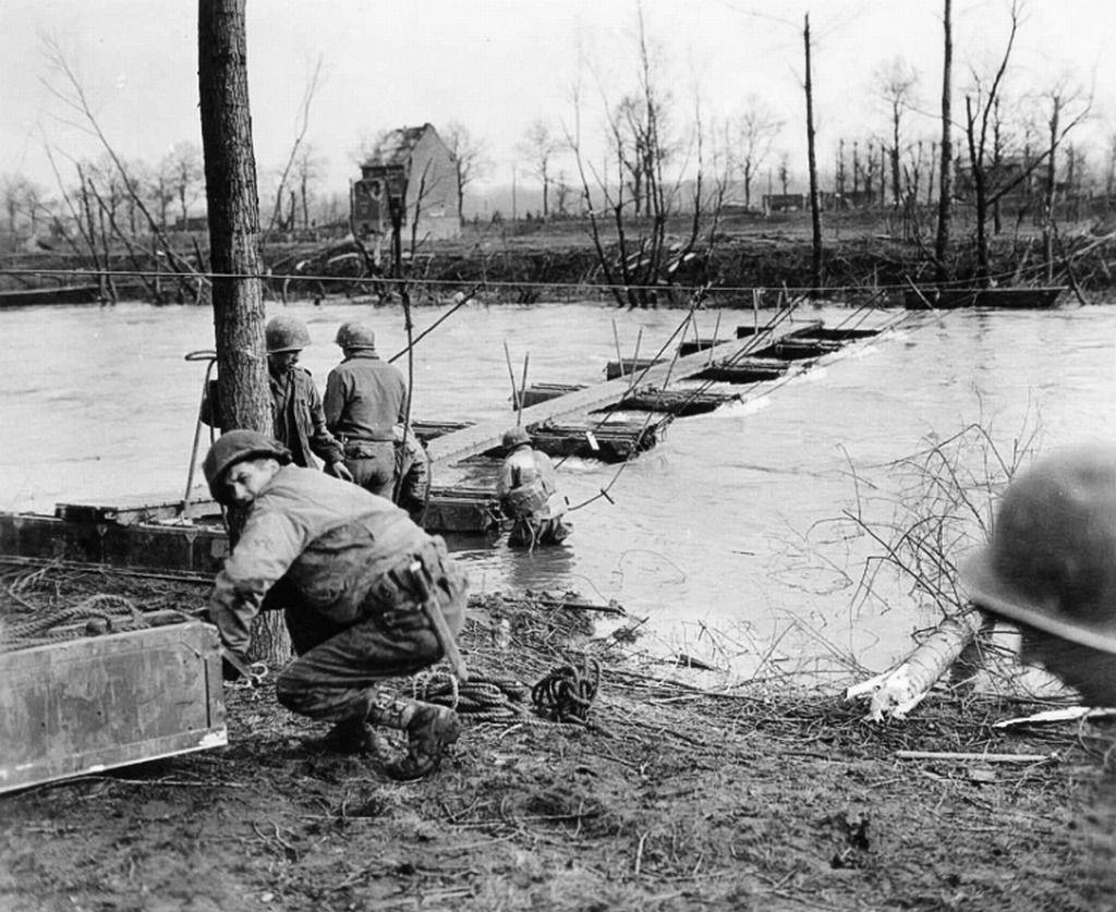 Linnich Germany February Operation Grenade