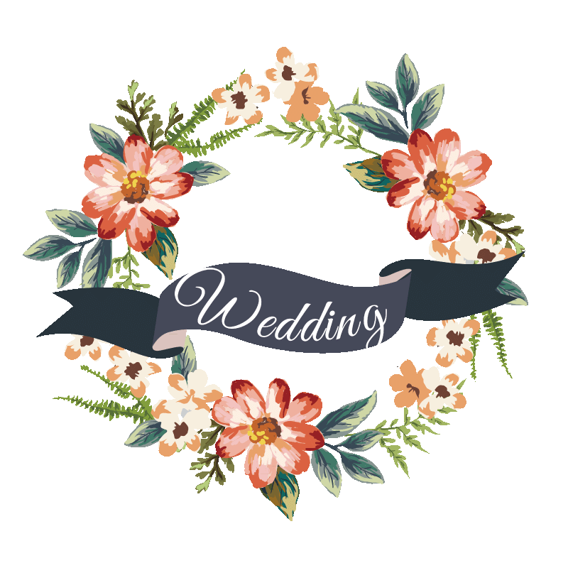 Multiple Flower Clipart, Wedding Clipart, PNG and Vector ...