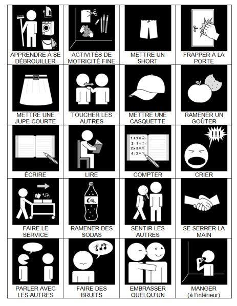 le r glement de la classe id es pour la maison pinterest autisme les droits et les m mes. Black Bedroom Furniture Sets. Home Design Ideas